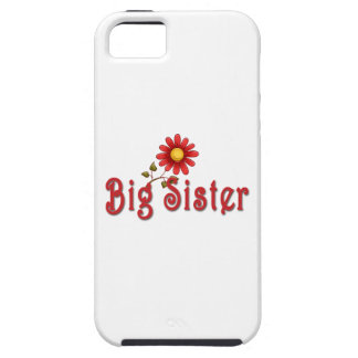 Big Sister Red Flower iPhone 5 Cases