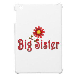 Big Sister Red Flower iPad Mini Cases