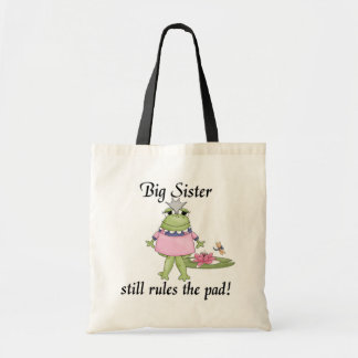 Big Sister Rules the Pad Tshirts Tote Bag