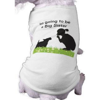 big sister secret pet dog tshirt