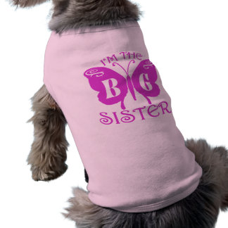 Big Sister Sleeveless Dog Shirt
