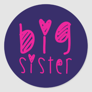 Big Sister Sticker Sheet