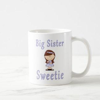 Big Sister Sweetie Red Hair Coffee Mugs