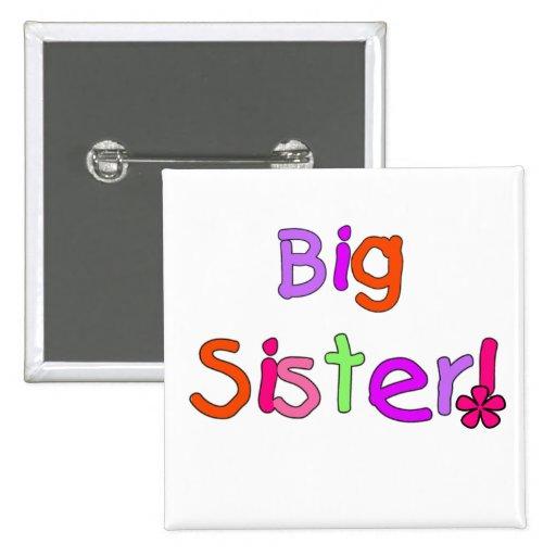Big Sister T-shirts and Gifts Pin