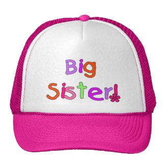 Big Sister T-shirts and Gifts Mesh Hats