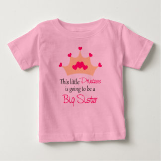 Big Sister To Be Princess Personalized T Shirt