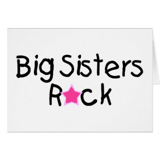 Big Sisters Rock Card