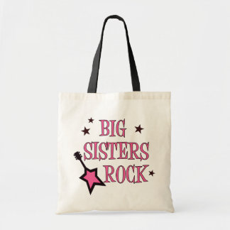 Big Sisters Rock Tote Bag