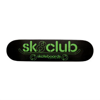 Big-Sk8club-logo-deck-blk 19.7 Cm Skateboard Deck