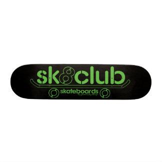 Big-Sk8club-logo-deck-blk Skate Board