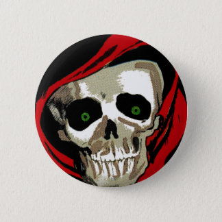 Big Skull 6 Cm Round Badge
