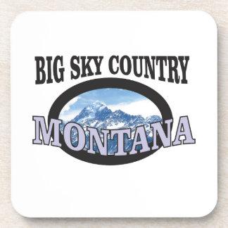 big sky country Montana Coaster