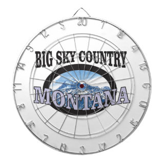 big sky country Montana Dartboard