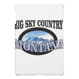 big sky country Montana iPad Mini Case