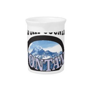 big sky country Montana Pitcher