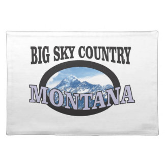big sky country Montana Placemat