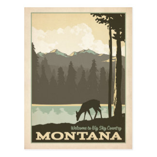 Big Sky Country | Montana Postcard