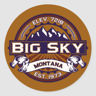 Big Sky Logo Stickers