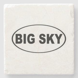 Big Sky Montana Stone Coaster