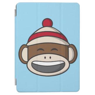 Big Smile Sock Monkey Emoji iPad Air Cover