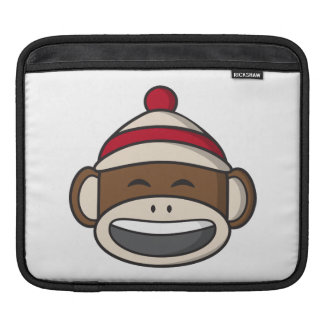 Big Smile Sock Monkey Emoji iPad Sleeve