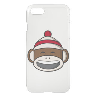 Big Smile Sock Monkey Emoji iPhone 8/7 Case