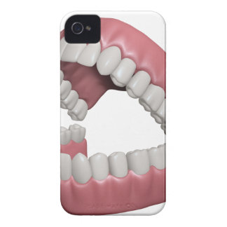big smile teeth Case-Mate iPhone 4 case