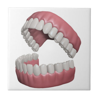 big smile teeth tile