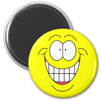 Big Smiley Face Magnet
