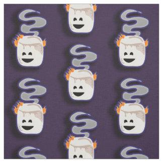 Big Smoky Smore Marshmallow Fabric