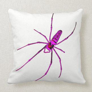 Big Spider Throw Pillow