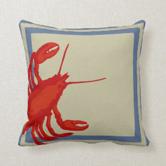 Big Square Lobster Pillow Cushions