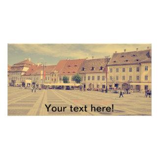 Big Square, Sibiu Picture Card