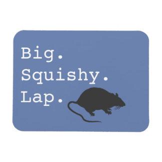 Big Squishy Lap Rat Magnet