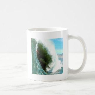 Big Steep Surfing Wave Coffee Mug