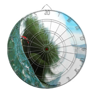 Big Steep Surfing Wave Dartboard