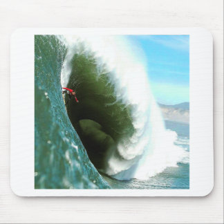 Big Steep Surfing Wave Mouse Pad