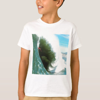 Big Steep Surfing Wave T-Shirt