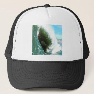 Big Steep Surfing Wave Trucker Hat