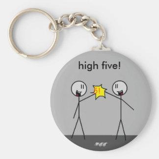 big stick high5, 5!, high five!, -DTT Key Ring