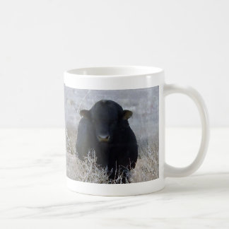Big Strong Black Bull Tumbleweeds - Toro - Taurus Coffee Mug