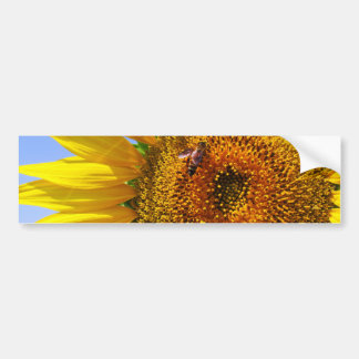 Big Sunflower Bumper Sticker