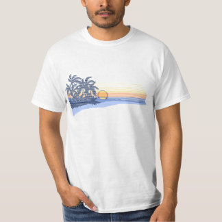 Big Sunset Mens Tee
