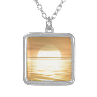 Big Sunset Necklaces