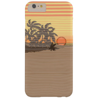 Big Sunset Stripe Hawaiian Barely There iPhone 6 Plus Case