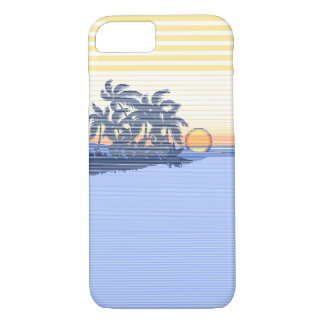 Big Sunset Stripe Hawaiian iPhone 7 case