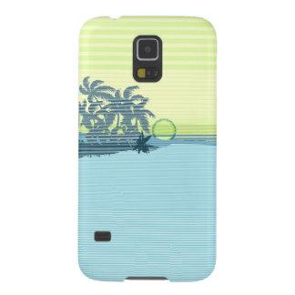 Big Sunset Stripe Hawaiian Samsung Galaxy Case