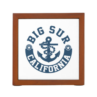 Big Sur California Desk Organiser