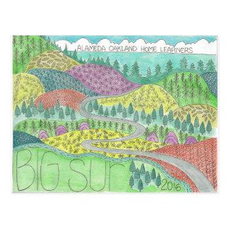 Big Sur Camping Trip 2016 Postcard