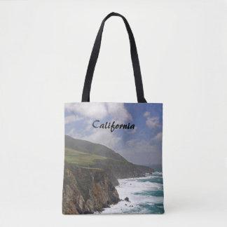 Big Sur Coastline Tote Bag